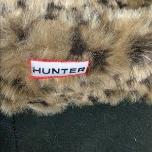 Hunter Other - Hunter boot liners leopard